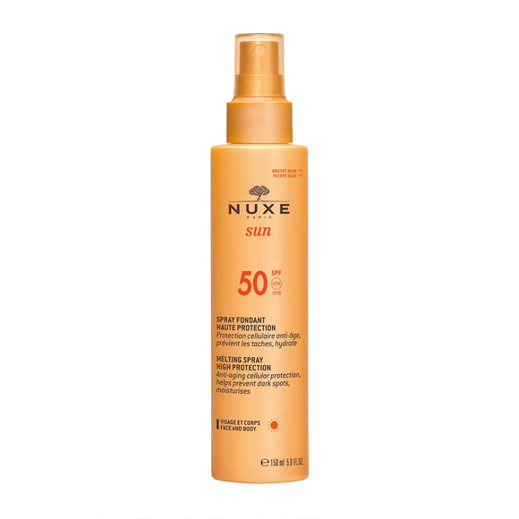 NUXE Sun Melting Spray for Face and Body SPF50 150ml