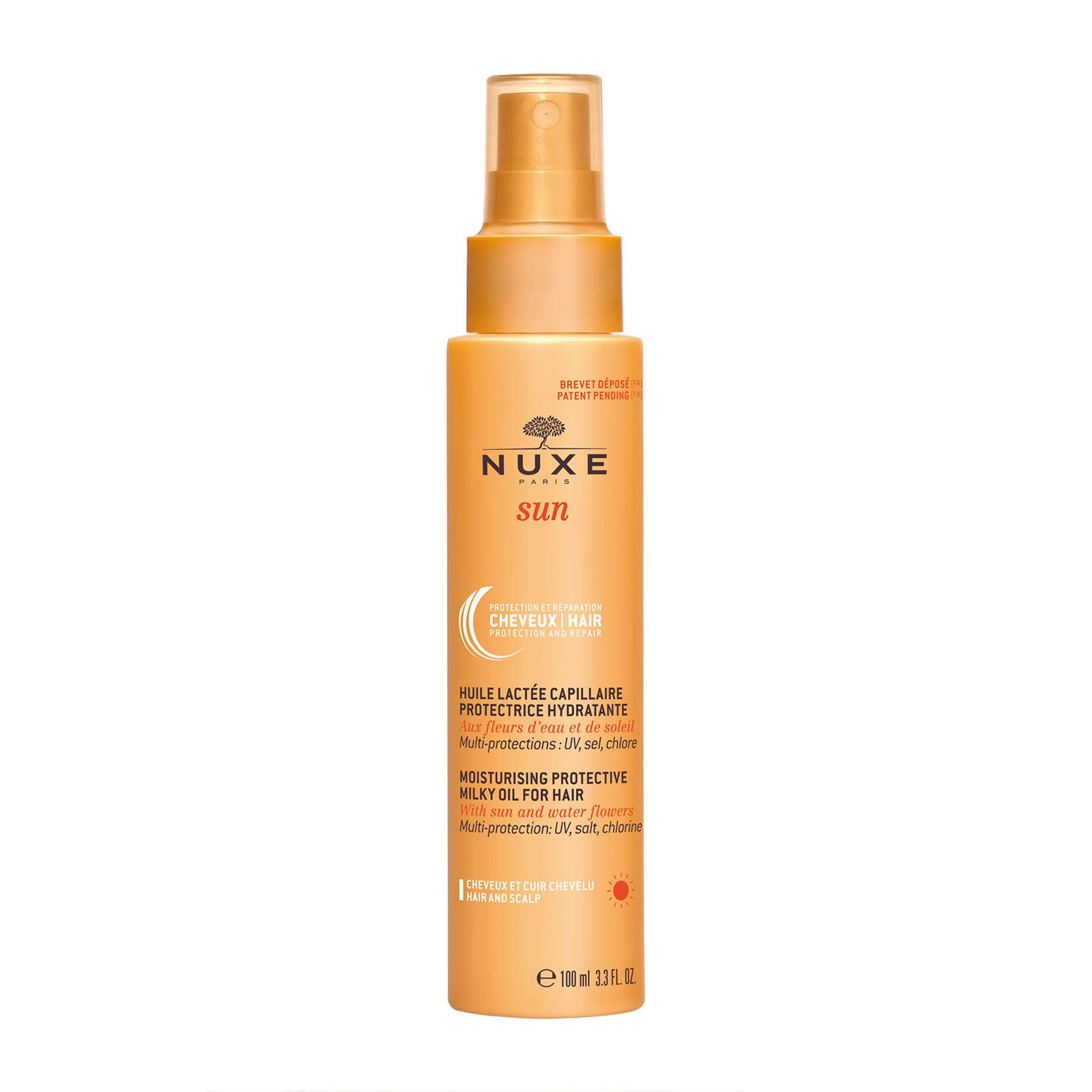 NUXE Sun Moisturising Protective Milky Oil for Hair 100ml