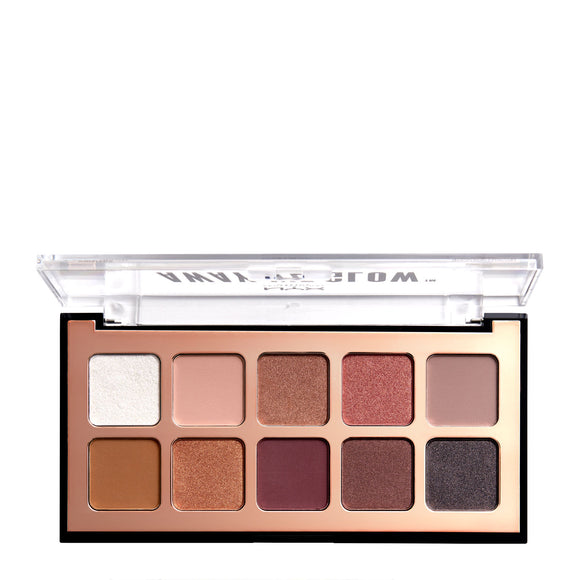 NYX Professional Makeup Away We Glow Shadow Palette 10g
