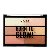 NYX Professional Makeup Born To Glow Highlighting Palette 4.8g