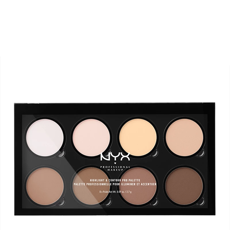 NYX Professional Makeup Highlight & Contour Pro Palette 16.2g