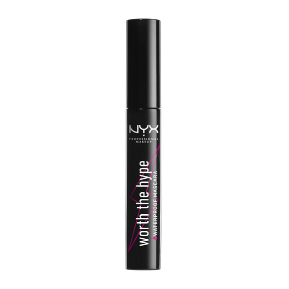 NYX Professional Makeup Worth The Hype Waterproof Mascara Black 7ml