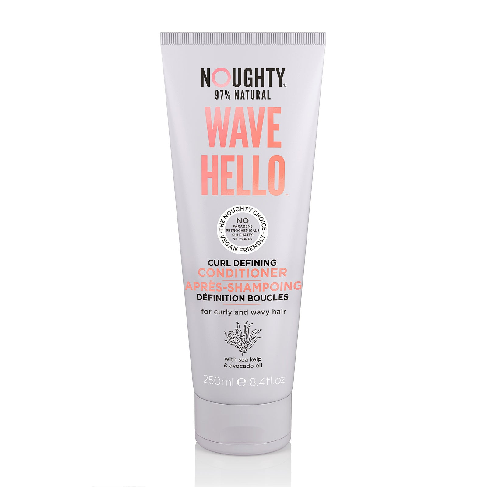 Noughty Wave Hello Curl Defining Conditioner 250ml