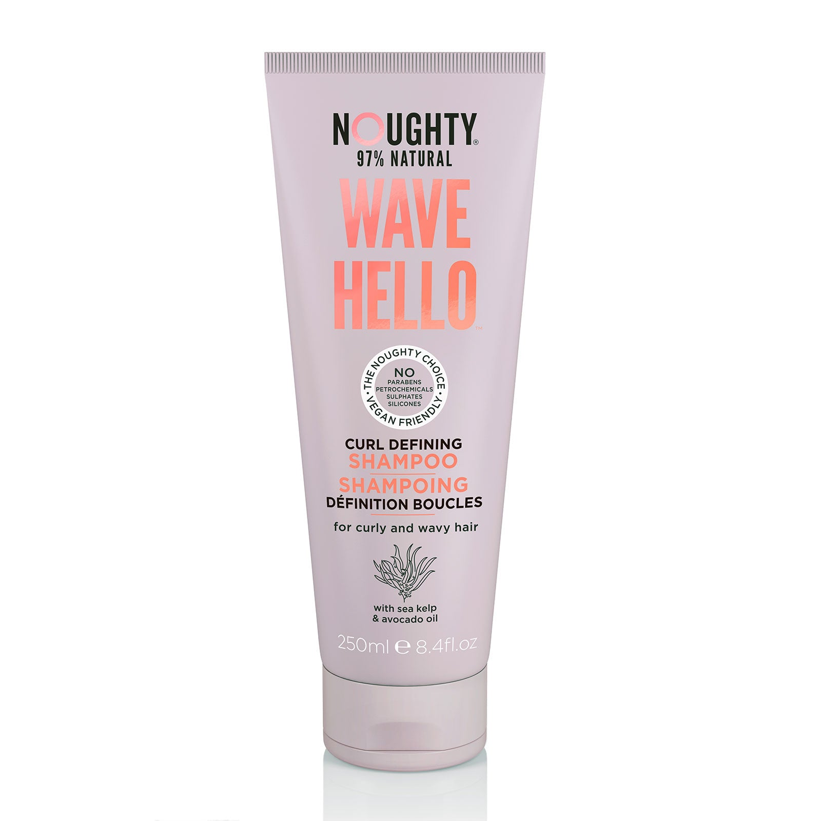 Noughty Wave Hello Curl Defining Shampoo 250ml