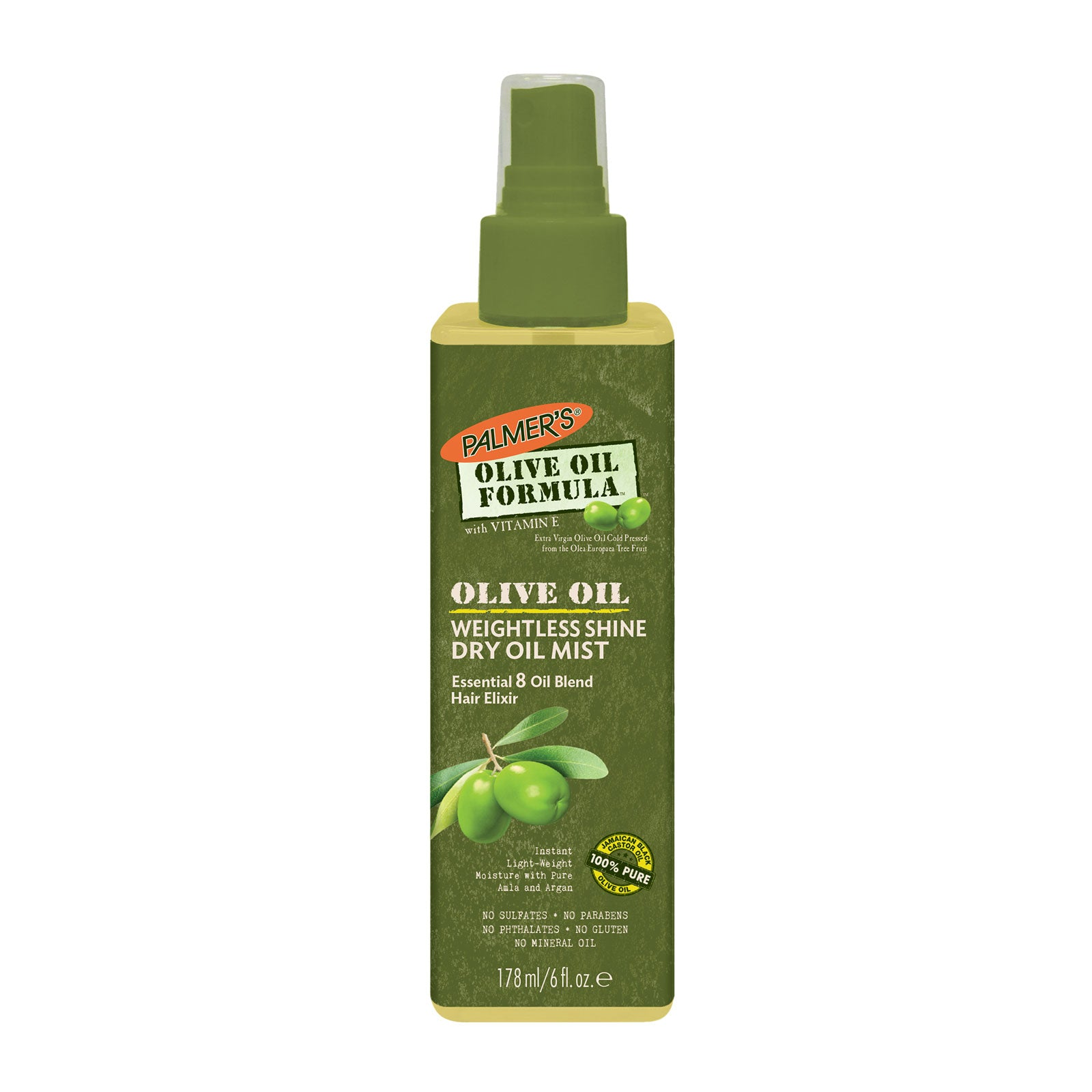 Palmer's Olive Oil Formula Weightless Shine Dry Oil Mist 178ml