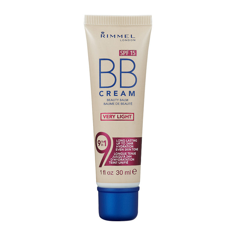 Rimmel BB Cream 9-in-1 Skin Perfecting Super Makeup SPF15 30ml
