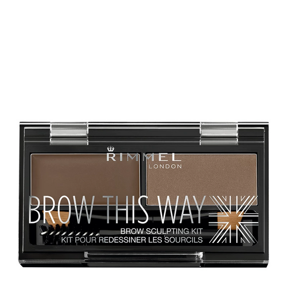 Rimmel Brow This Way Eyebrow Kit 3.3g