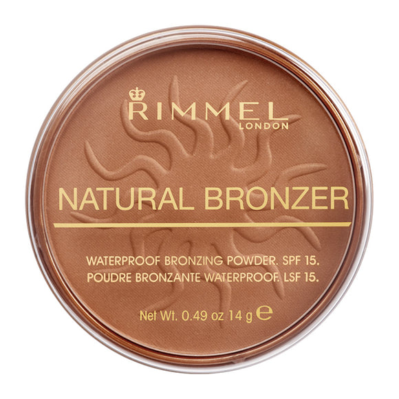 Rimmel Natural Bronzer Waterproof Bronzing Powder SPF15 14g
