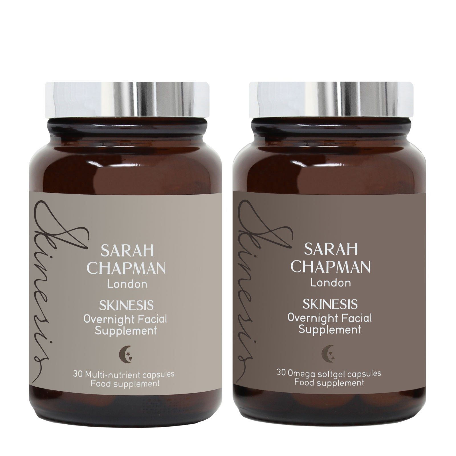 Sarah Chapman Skinesis Overnight Facial Supplement Duo