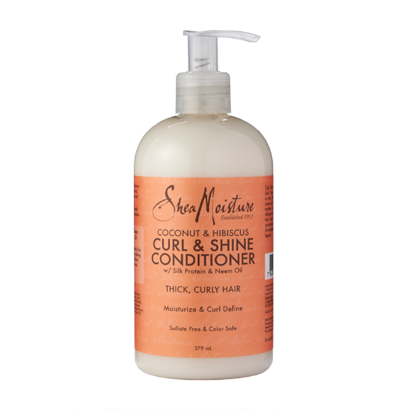 Shea Moisture Coconut & Hibiscus Curl & Shine Conditioner 379ml