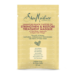 Shea Moisture Jamaican Black Castor Oil Treatment Masque Sachet 59ml