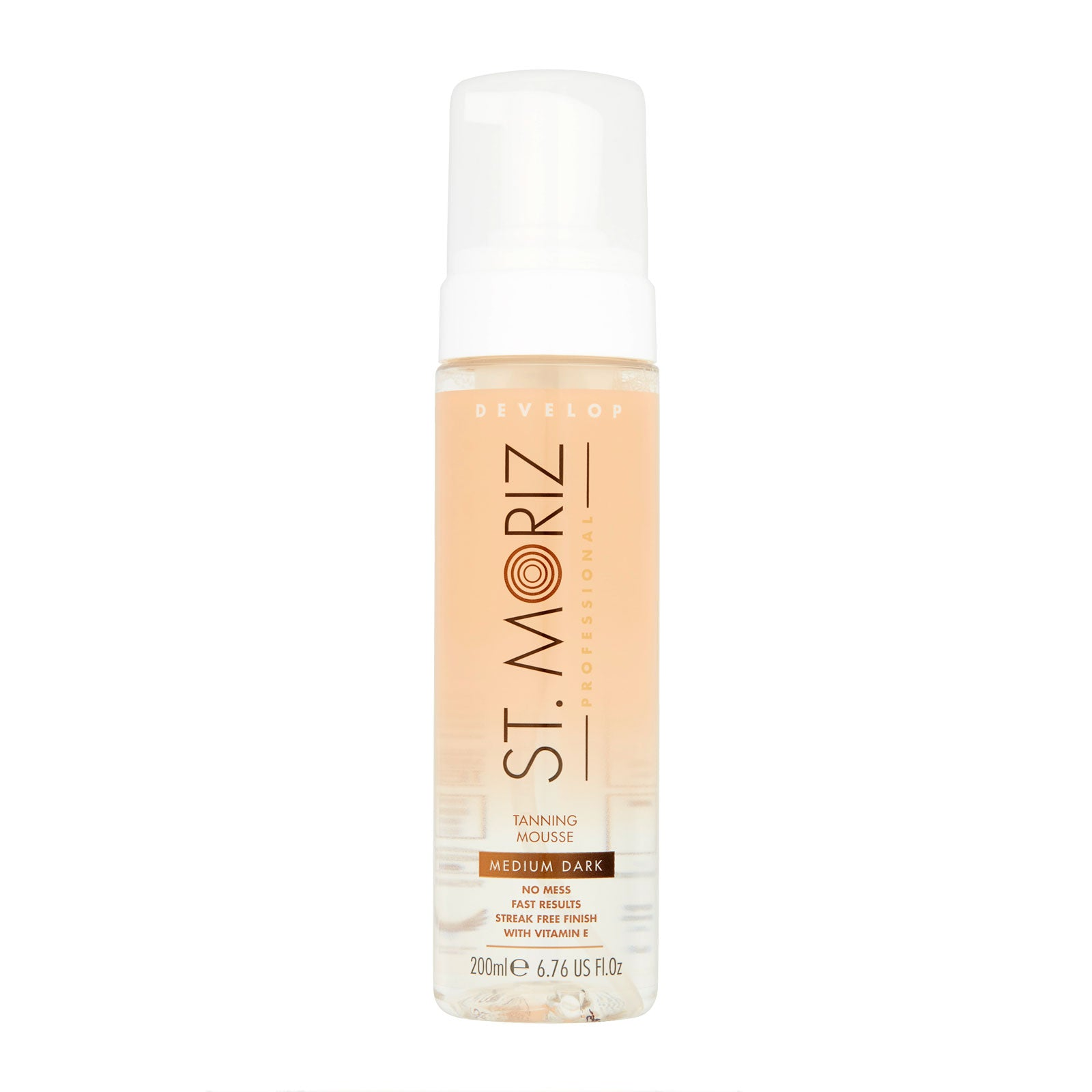 St. Moriz Professional Clear Tanning Mousse Medium Dark 200ml