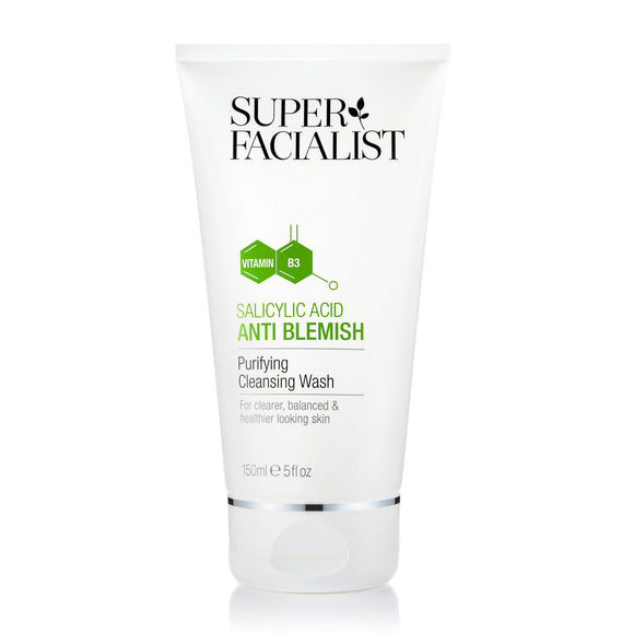 Super Facialist Salicylic Acid Anti Blemish Purifying Cleansing Wash 150ml