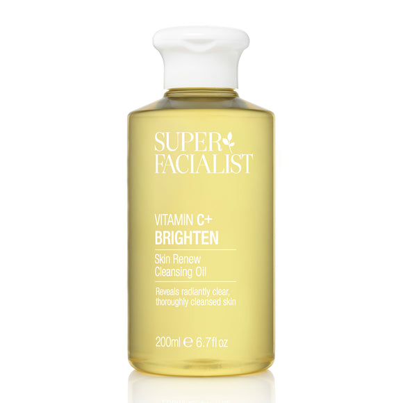 Super Facialist Vitamin C + Brighten Skin Renew Cleansing Oil 200ml