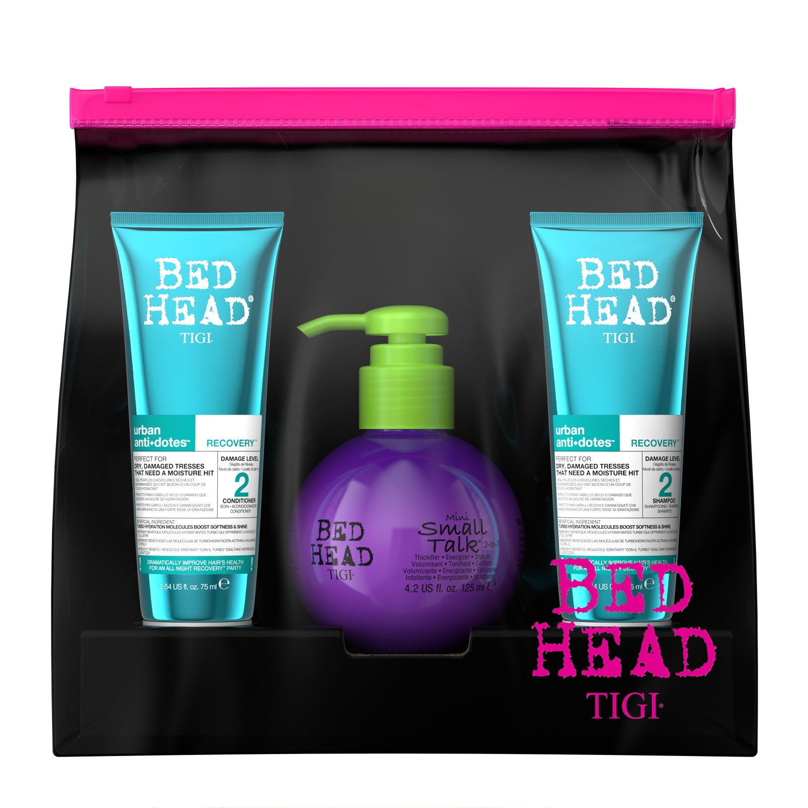 Bed Head by TIGI Moisturising and Volumising Hair Mini Set
