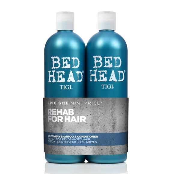 Bed Head by TIGI Urban Antidotes Recovery Tween Shampoo & Conditioner Duo 2 x 750ml