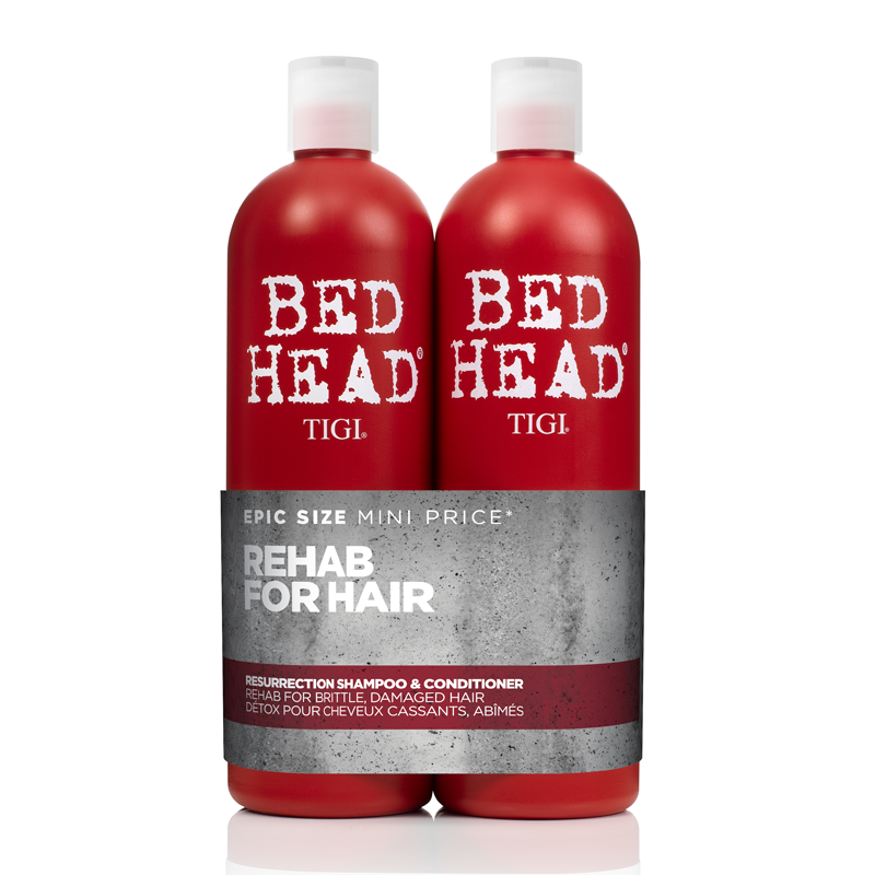 Bed Head by TIGI Urban Antidotes Resurrection Shampoo & Conditioner Tween Duo 2 x 750ml