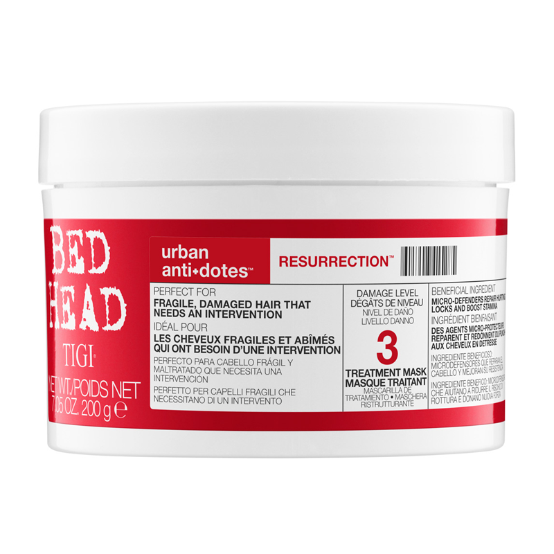 Bed Head by TIGI Urban Antidotes Resurrection Treatment Mask 200g
