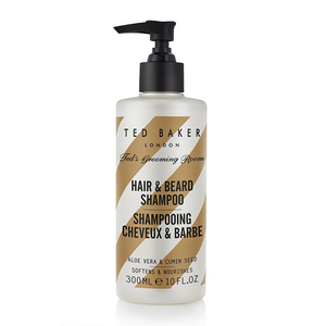 Ted Baker Ted's Grooming Room Hair & Beard Shampoo 300ml