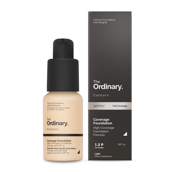 The Ordinary Colours Coverage Foundation with SPF 15 30ml
