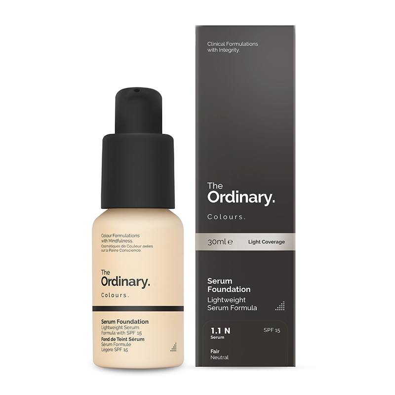 The Ordinary Colours Serum Foundation with SPF 15 30ml