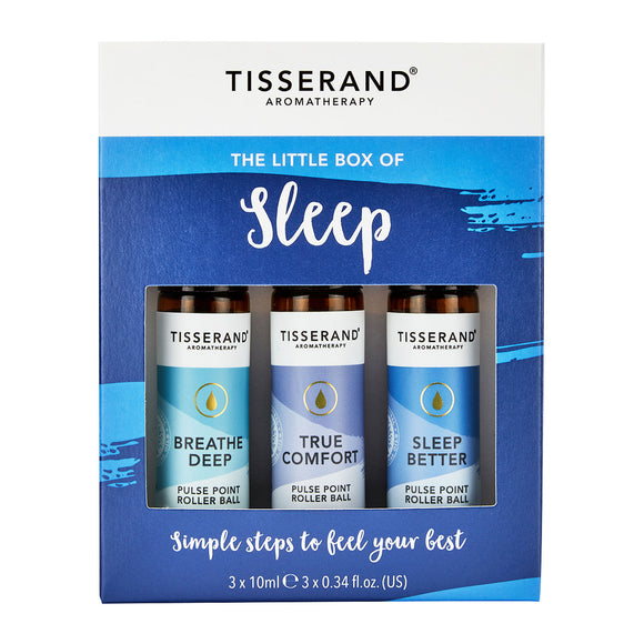 Tisserand Aromatherapy The Little Box of Sleep 3 x 10ml