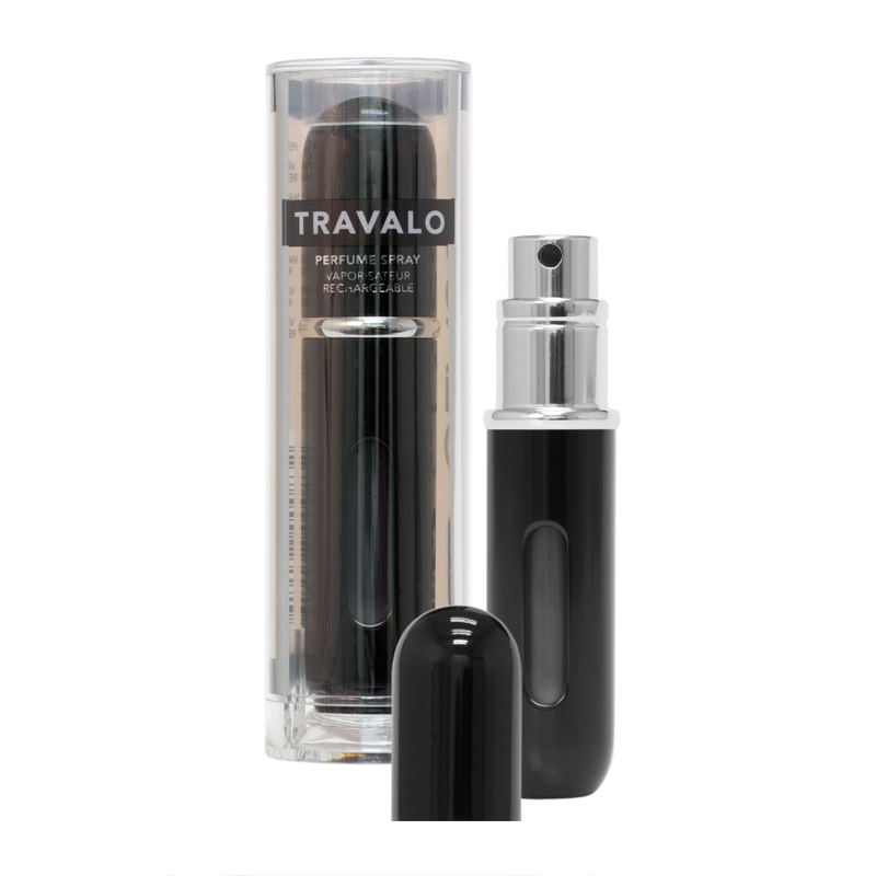 Travalo Classic HD Refillable Perfume Spray - Black