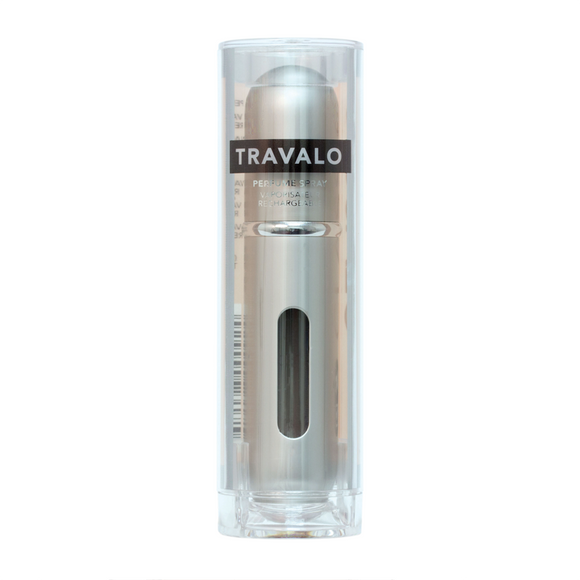 Travalo Classic HD Refillable Perfume Spray - Silver