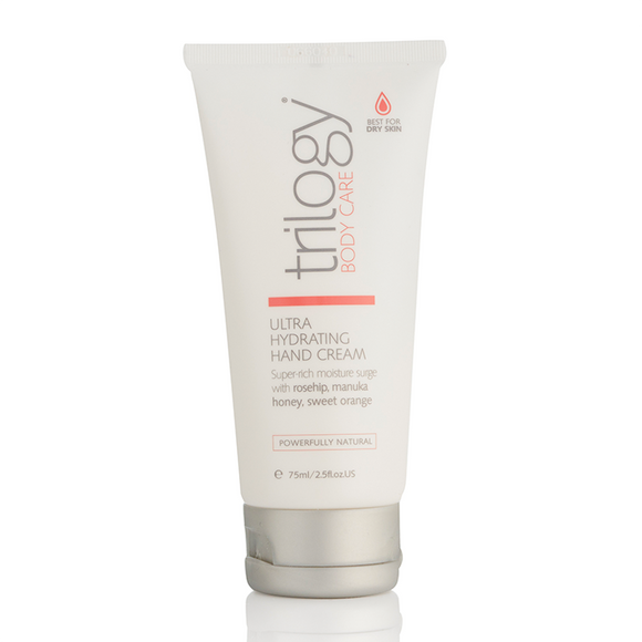 Trilogy® Ultra Hydrating Hand Cream 75ml