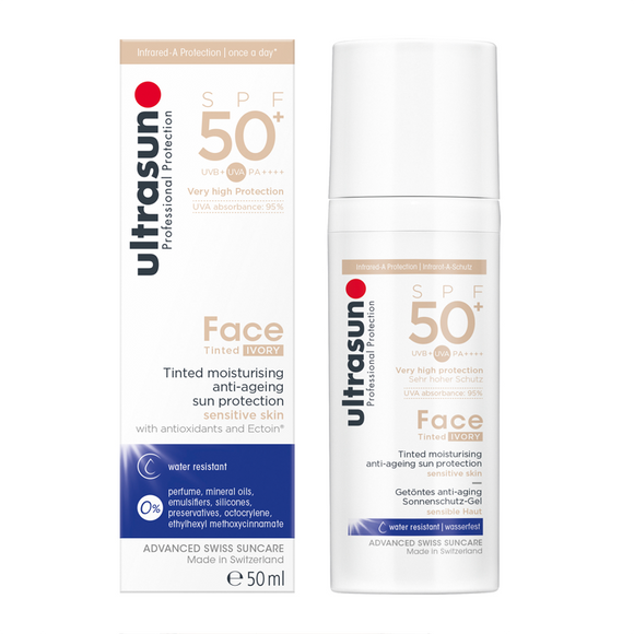 Ultrasun Face Very High SPF50+ Anti-Ageing Tinted Formula 50ml