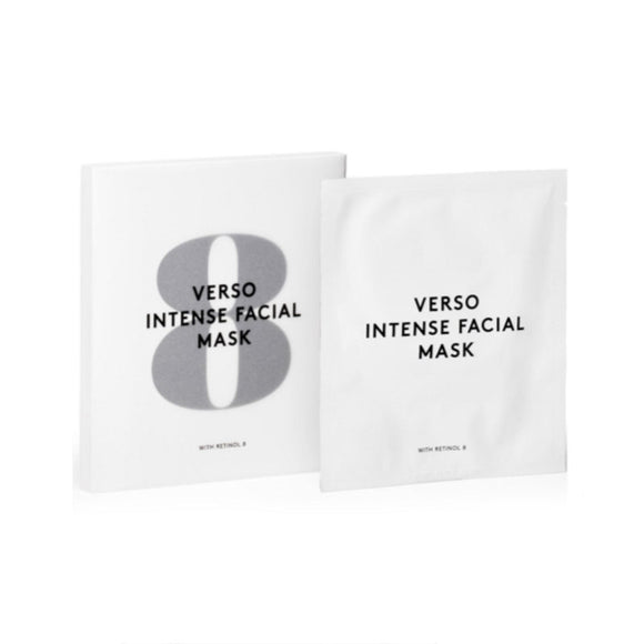 VERSO Intense Facial Mask x 4