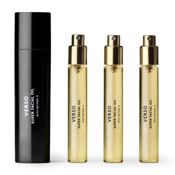 Verso Skincare 7 Super Facial Oil 4 x 7.5ml