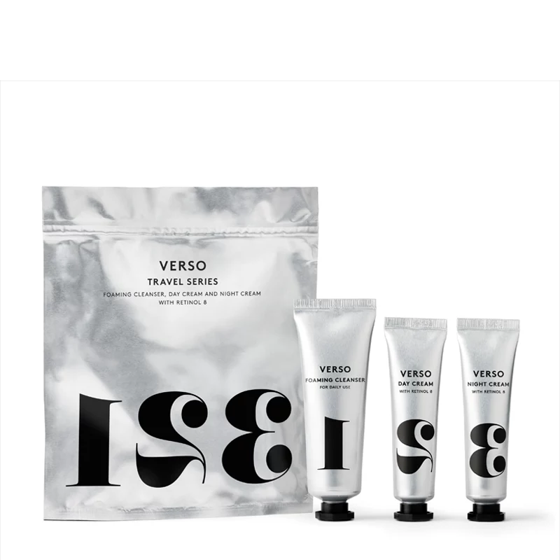 Verso Skincare 123 Travel Series Set