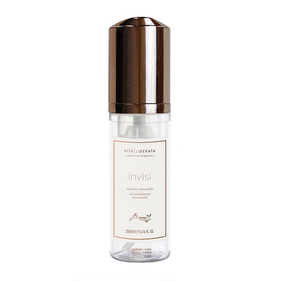 Vita Liberata Invisi Foaming Tan Water Light-Medium 200ml