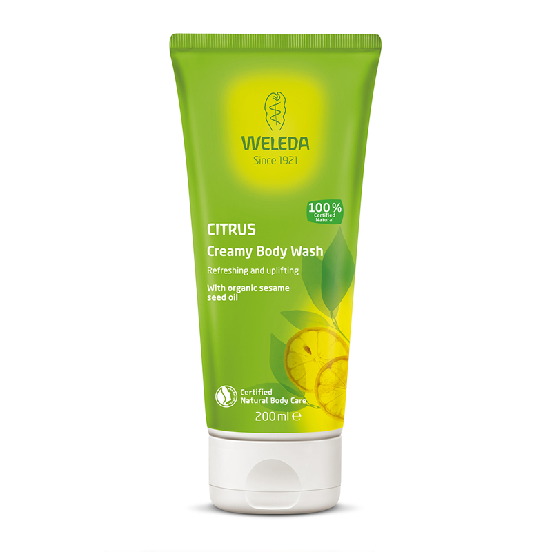 Weleda Citrus Creamy Body Wash 200ml