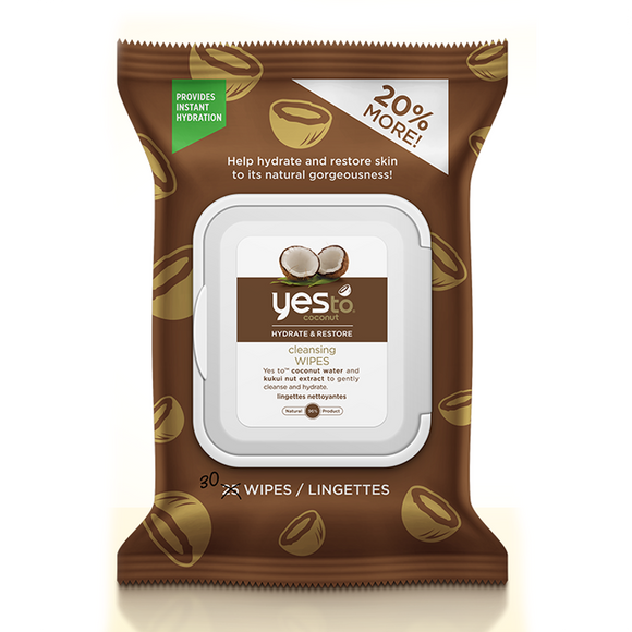 Yes to Coconut Cleansing Wipes x 30