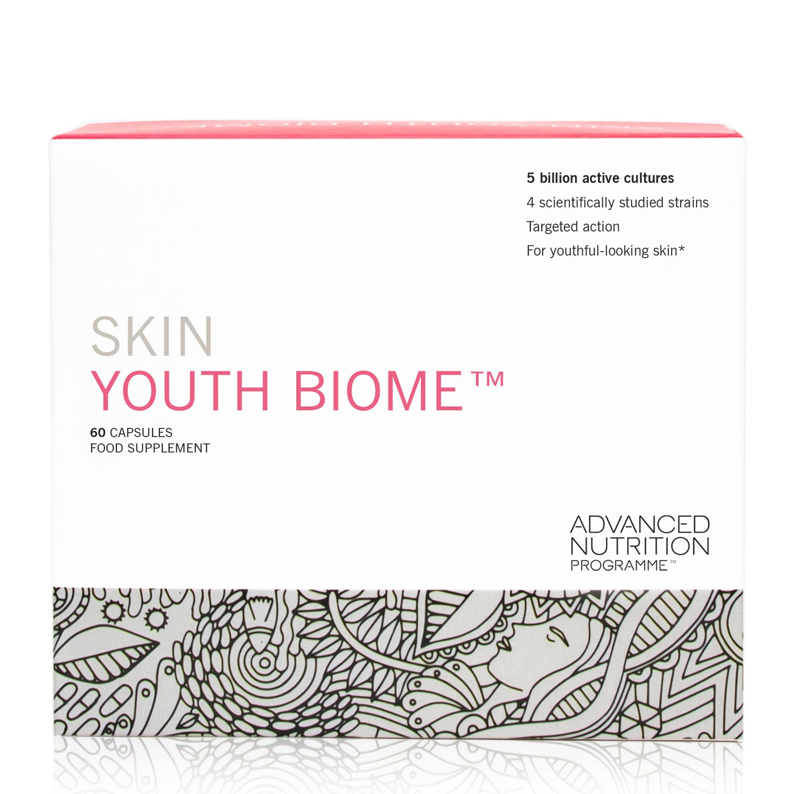 Advanced Nutrition Programme™ Skin Youth Biome x 60 Capsules