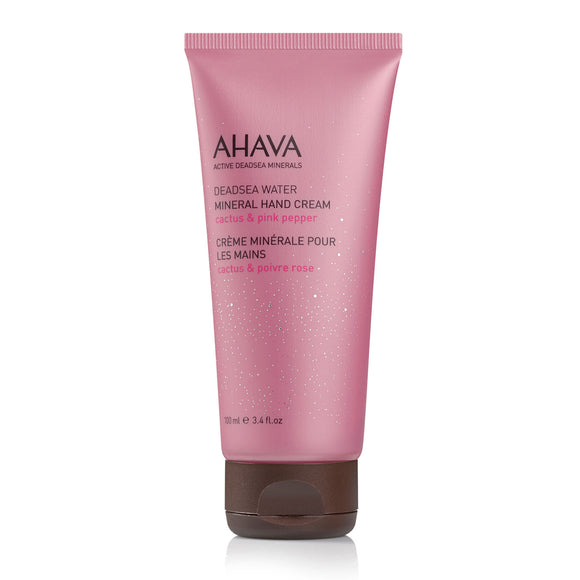 AHAVA Mineral Hand Cream Cactus Pink Pepper 100ml