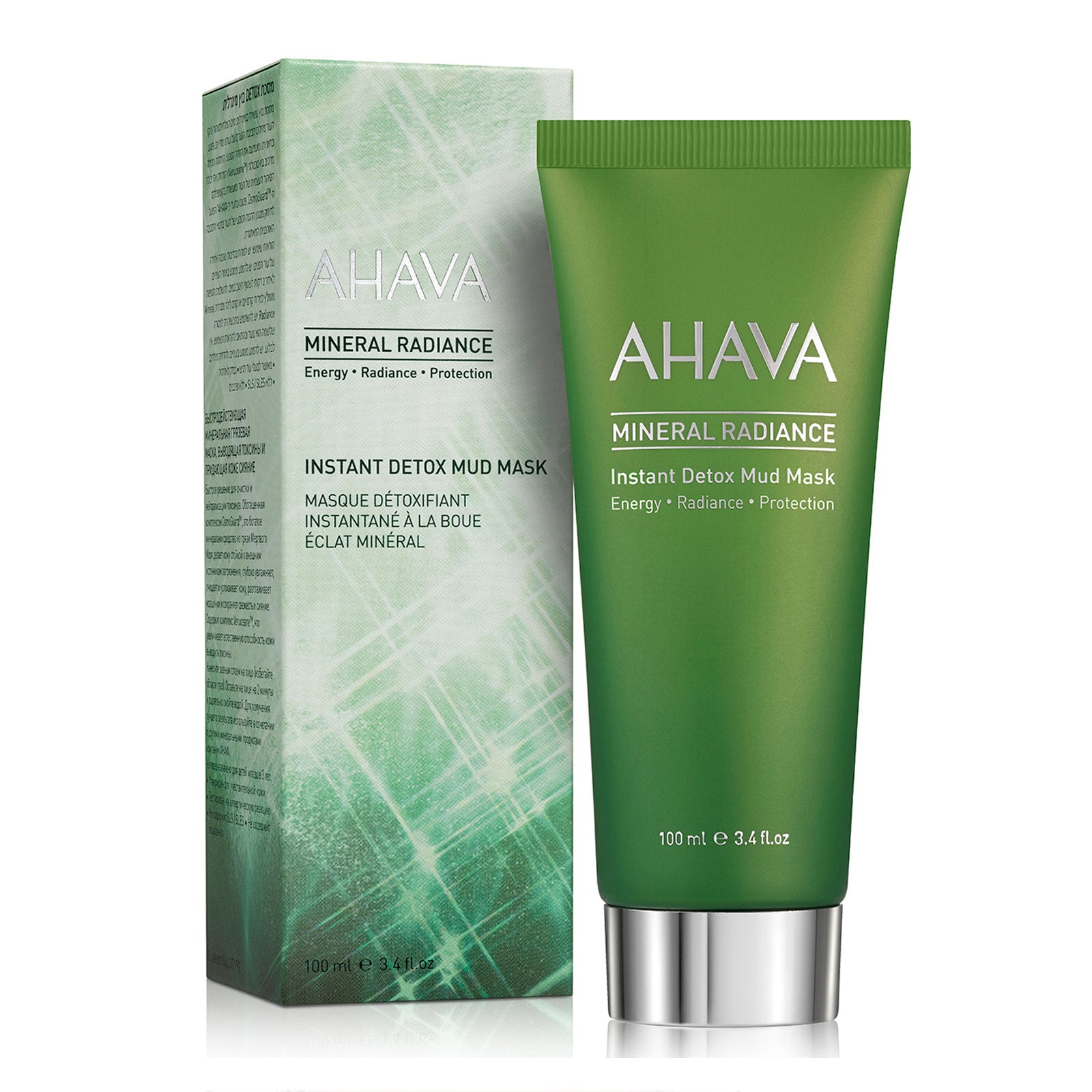 AHAVA Mineral Radiance Detox Mud Mask 100ml