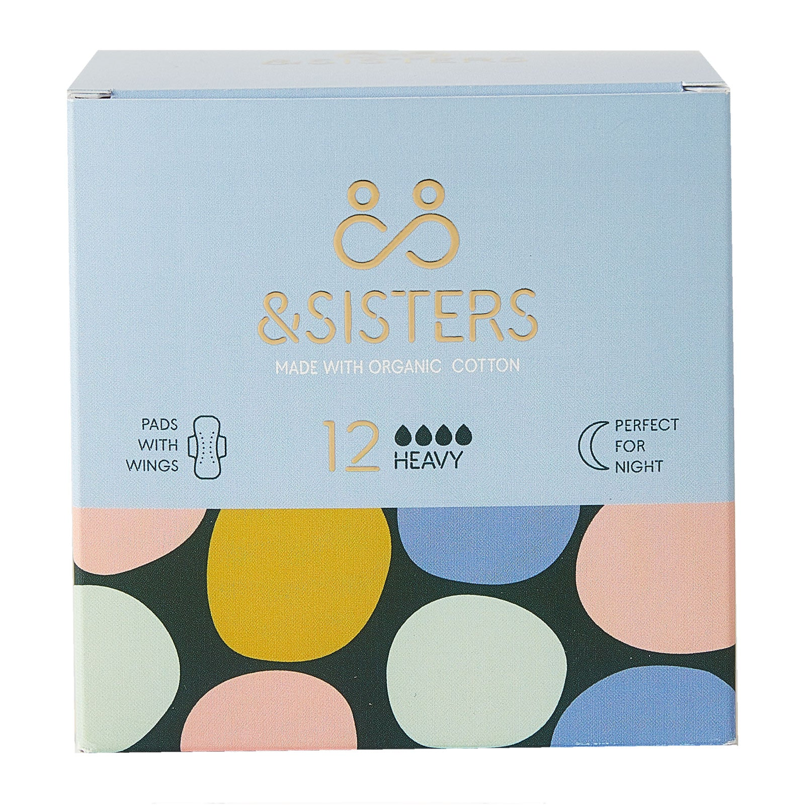 &SISTERS Sanitary Pads Heavy x 12