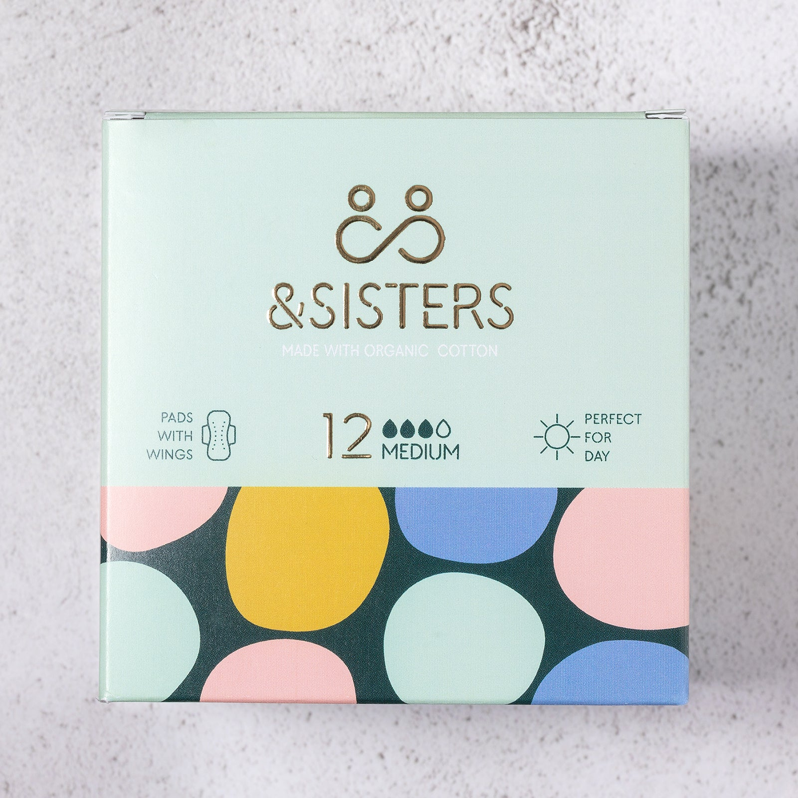 &SISTERS Sanitary Pads Medium x 12