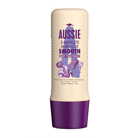 Aussie 3 Minute Miracle Smooth Deep Treatment 250ml