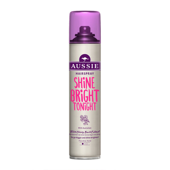 Aussie Shine Bright Tonight Hairspray 250ml