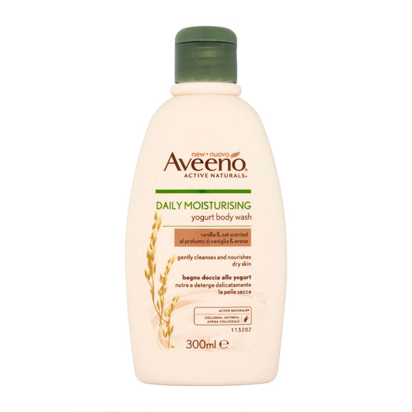 Aveeno Daily Moisturising Vanilla & Oats Body Wash 300ml