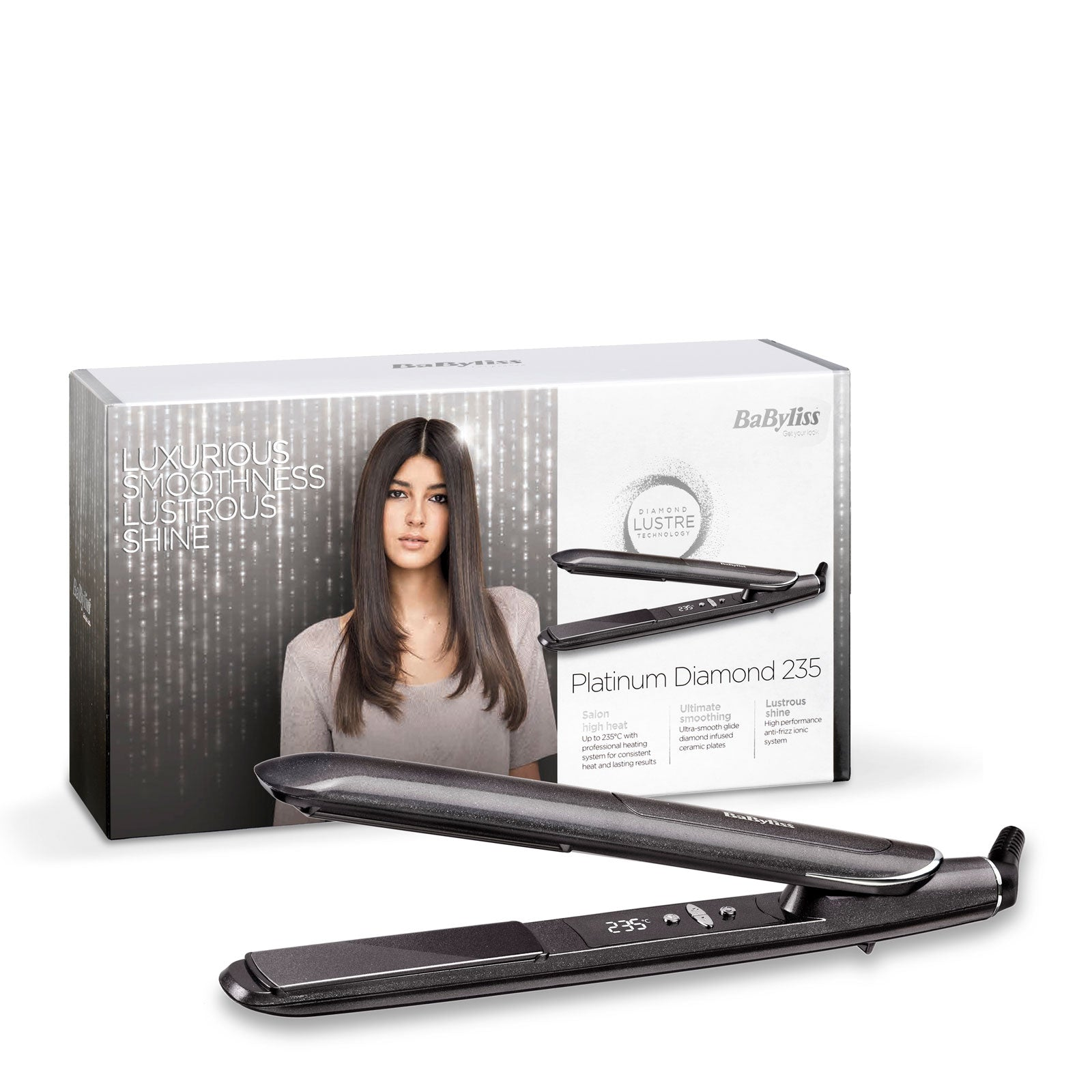 BaByliss Platinum Diamond 235 Straightener
