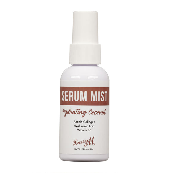 Barry M Serum Mist 1 Hydrating Coconut 50ml