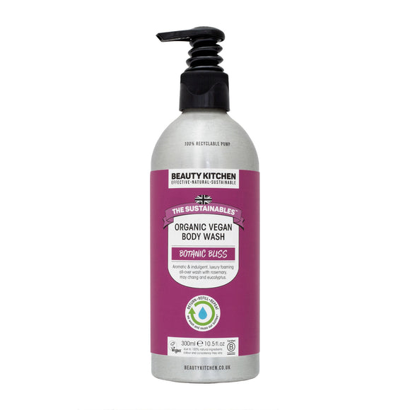 Beauty Kitchen Botanic Bliss Organic Body Wash 300ml