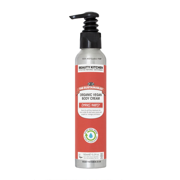 Beauty Kitchen Citrus Burst Organic All-Over Lotion 150ml