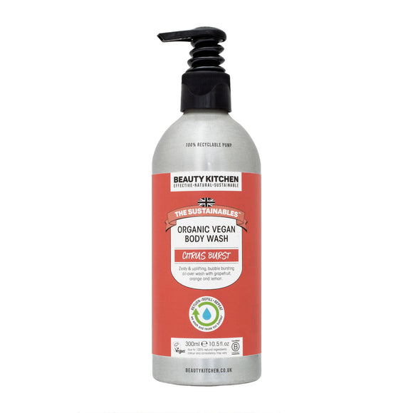 Beauty Kitchen Citrus Burst Organic Body Wash 300ml