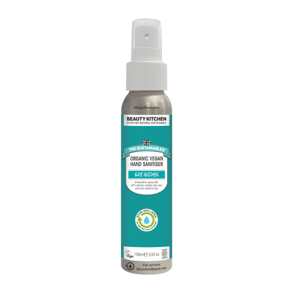Beauty Kitchen Organic Vegan Hand Sanitiser 100ml